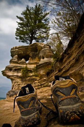Hiking to Chapel Rock