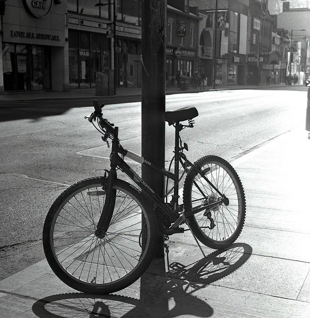Bike in the Sun