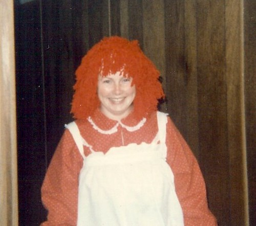 Me as Raggedy Ann