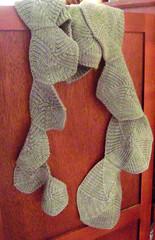 spiral scarf