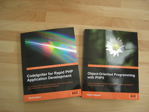 PHP books to review