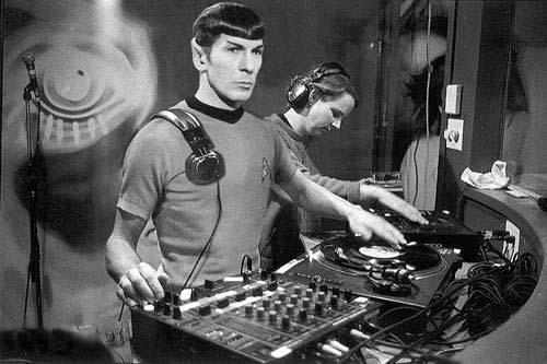 star trek dj