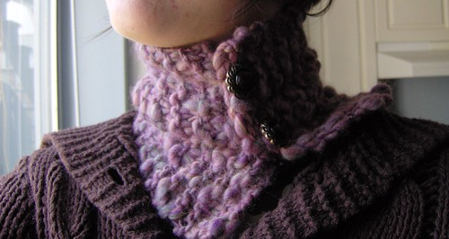 snuggly neck scarf