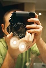 Canon A1 + 28mm + Autowinder