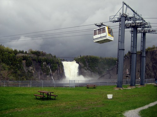 Cable Car to the Montmorency Falls