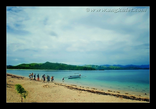 Arriving in Baticorao Island, Garchitorena, Camarines Sur