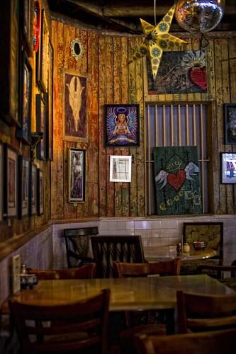 Angeli's on Decatur... an interior.
