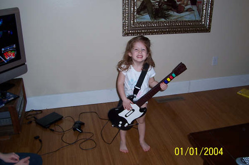 Reagan Rocking Out