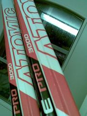 Talven 2008 ensimmäinen hiihtolenkki