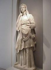 Sculpture of a Modest Roman Matron 1st century BCE