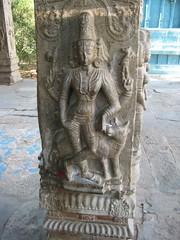Maha Mandapa Sculpture - Kaala Bairavar