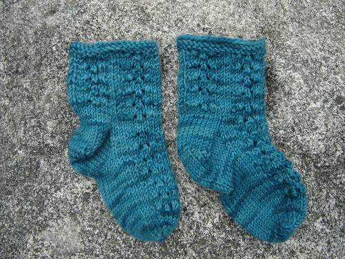 Baby Eyelet Socks - gift for a friend