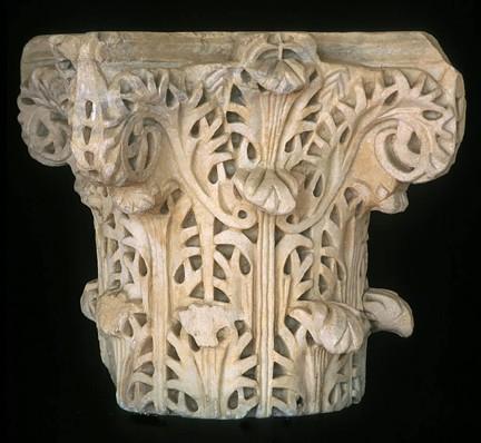 Capitel marmol Medina Azahara TA