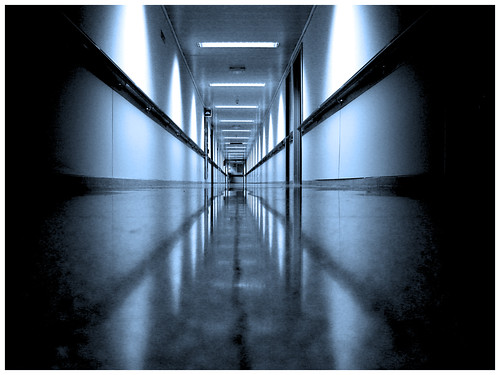 Hospital corridor - yosoyjulito on Flickr