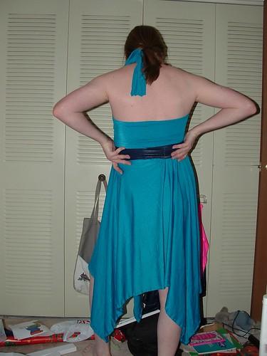 Teal Dress 2