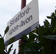 Stratford-upon-Avon Sign