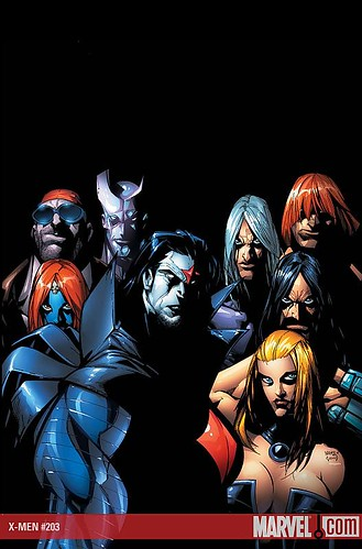 X-Men #203 by The Black Womb.