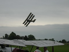 Sopwith Triplane over Old Warden