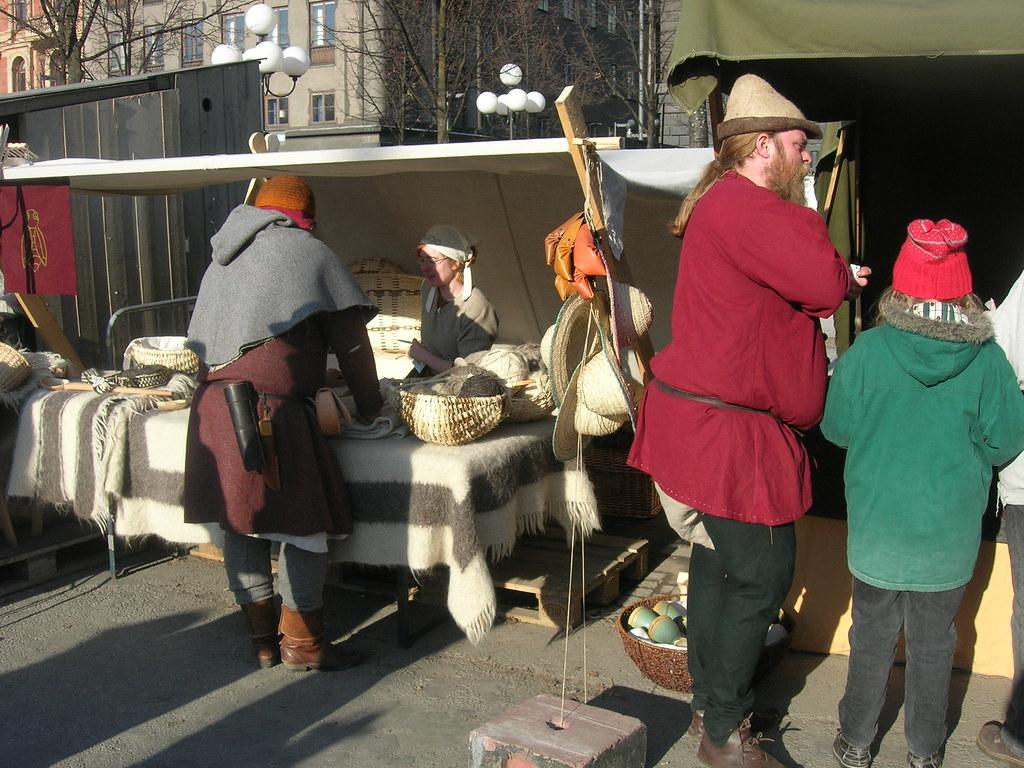 Medieval market in Stockholm, 2010 Apr - 6