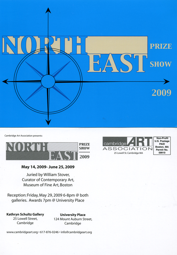 Cambridge Art Association's North East Prize Show Art Promo Card by The Lone Beader