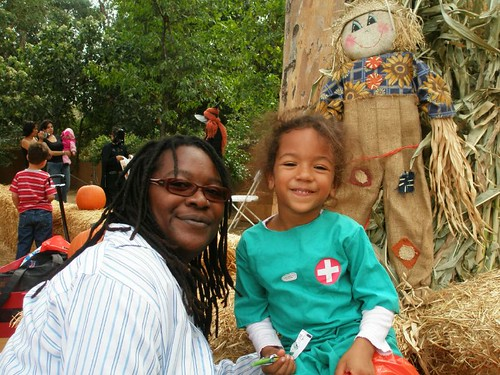 Me and Ilia at the Pumpkin Patch