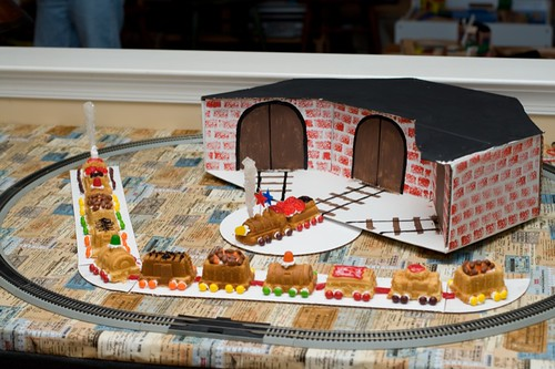 Train Party - Roundhouse and Cake