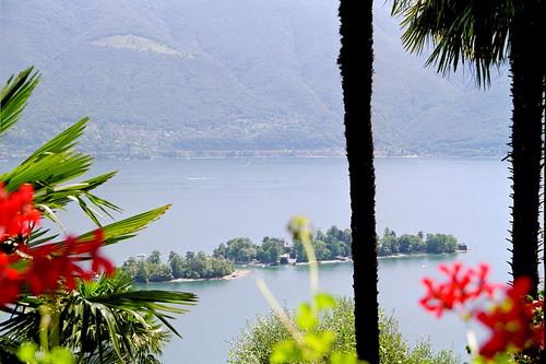 Geburtstagsblick auf die Isole di Brissagio