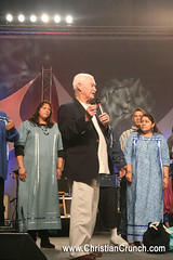 Prophet Bob Jones gives a word to the First Nations people in Lakeland, Florida at the Florida Revival