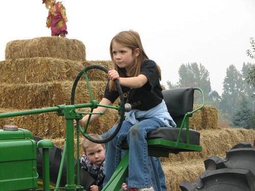 Liz and Tractor