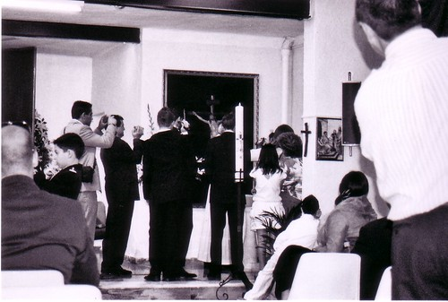 Inmortalizando el bautizo de Ainhoa