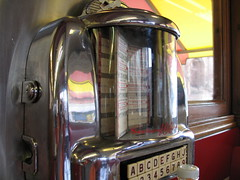 Sebring 100 Jukebox, Mickey's Diner, downtown St. Paul, Minnesota, April 2007, photo © 2007 by QuoinMonkey. All rights reserved.