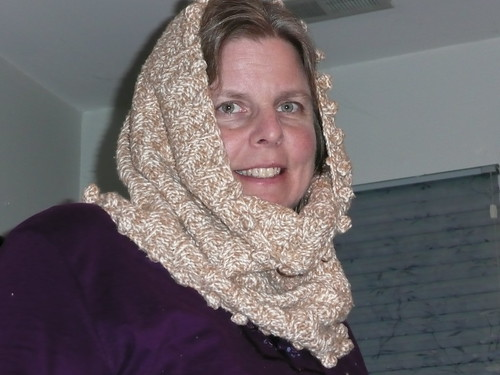 Mom in cowl
