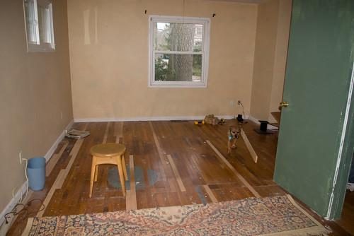 Bedroom laid bare