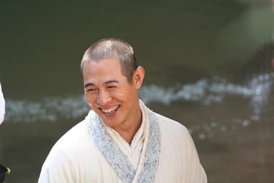 Jet Li smiling