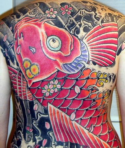 Koi Fish Tattoo Japanese tattoos.