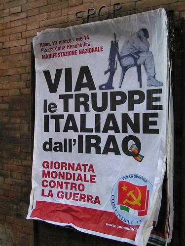 Via le truppe italiane dall'Iraq