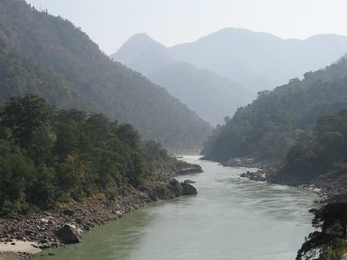 Ganges al seu pas per Rishikesh