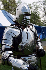 Late fifteenth century armor with bellows helm