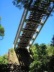 Ponte de Ferro - Itaara RS - 06.11.2007