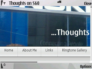 Thoughts On S60 in the Web Browser