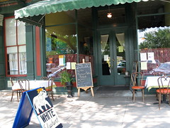 Southern Sidewalk Cafe, Augusta, Georgia, June 2008,photo © 2007 by QuoinMonkey. All rights reserved.