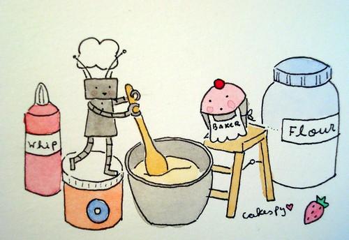 Chibi Bake-bot
