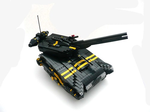 "Blacktron ""Misery"" Main Battle Tank."
