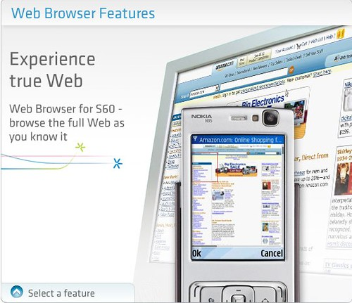 Web Browser for S60