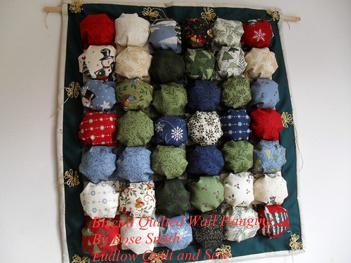 Biscuit Quilted Wall Hanging