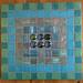 Jenny's Geometric Mosaic Trivet