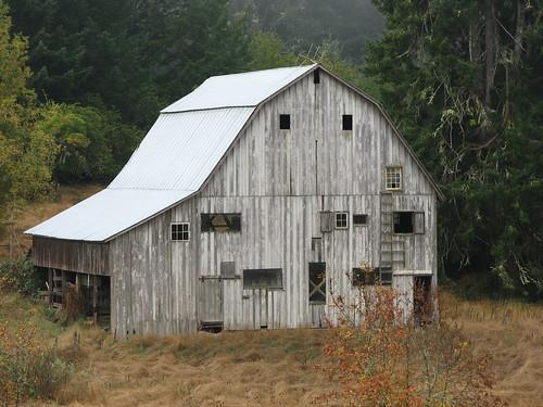 Old Barn Close-up