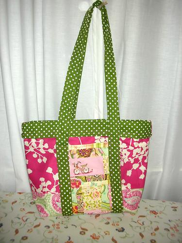 Pink/Green Purse