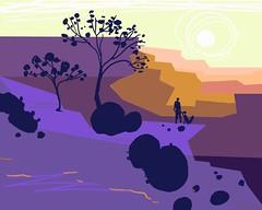 color study/ digital sketch