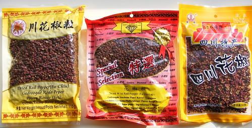 Comparing Sichuanpeppercorns